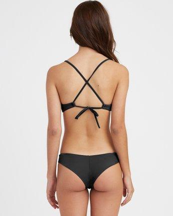 2 Solid Cross Back Bikini Top Black SJXT01SC RVCA