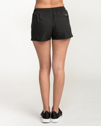 4 Womens Yogger Short Black T253QRYO RVCA