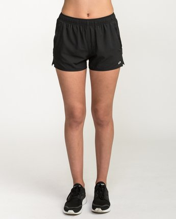 1 Womens Yogger Short Black T253QRYO RVCA