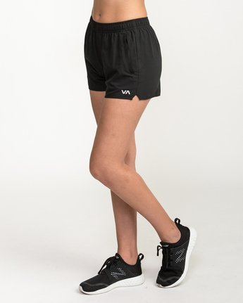 2 Womens Yogger Short Black T253QRYO RVCA