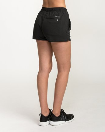 3 Womens Yogger Short Black T253QRYO RVCA