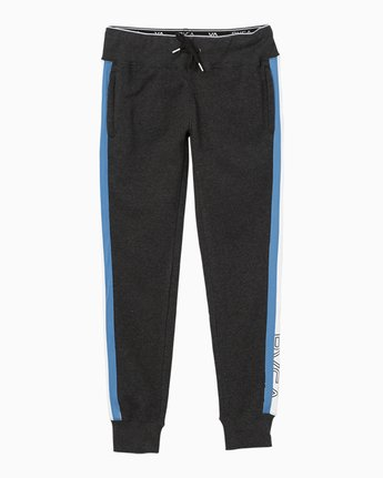 7 VA Guard Fleece Jogger Pants Black T354QRGU RVCA