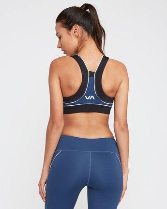 2 VA Lock Sports Bra Blue TQ02QRLO RVCA