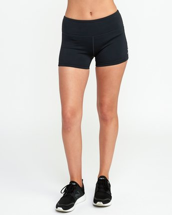 1 VA Fitted Short Black TQ51QRSH RVCA