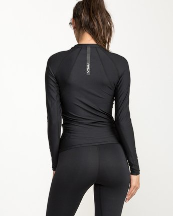 3 VA Performance Long Sleeve Shirt Black TR73QRJL RVCA