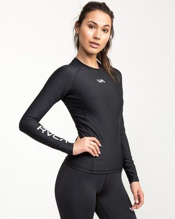 1 VA Performance Long Sleeve Shirt Black TR73QRJL RVCA