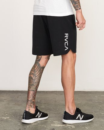 "5 Train 19"" Lined Short Black V202TRTL RVCA"