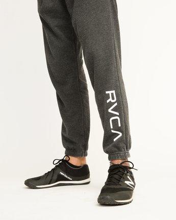 6 VA Guard Fleece Sweatpant Black V301QRGU RVCA