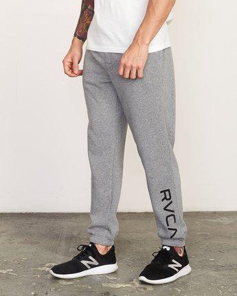1 Cage Sweatpant Grey V302TRCS RVCA