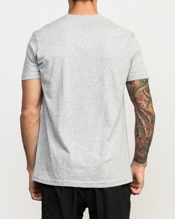 3 Sports Bar Performance T-Shirt Grey V402QRSB RVCA