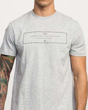 4 Sports Bar Performance T-Shirt Grey V402QRSB RVCA