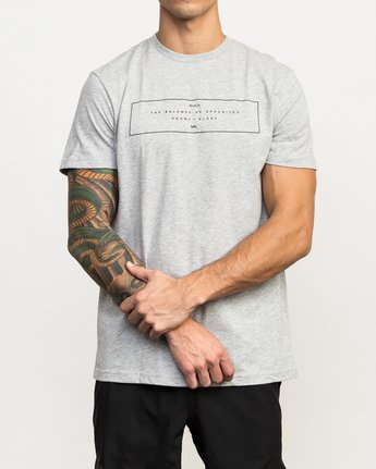 1 Sports Bar Performance T-Shirt Grey V402QRSB RVCA
