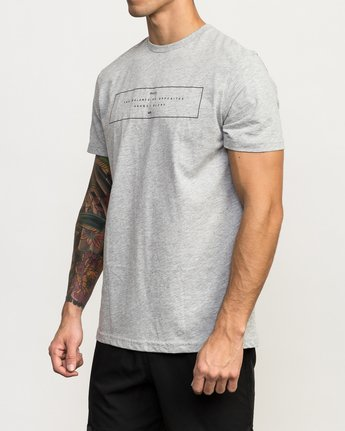 2 Sports Bar Performance T-Shirt Grey V402QRSB RVCA