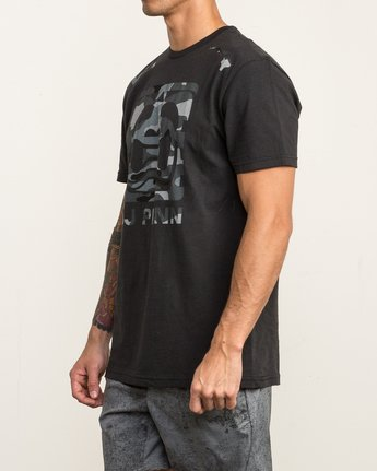 2 All Penn T-Shirt Black V402SRAL RVCA