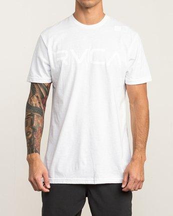 2 Flipped T-Shirt White V402SRFL RVCA