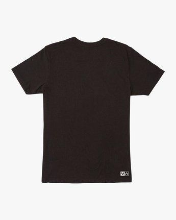 1 RVCA Vert T-Shirt Black V402SRRV RVCA