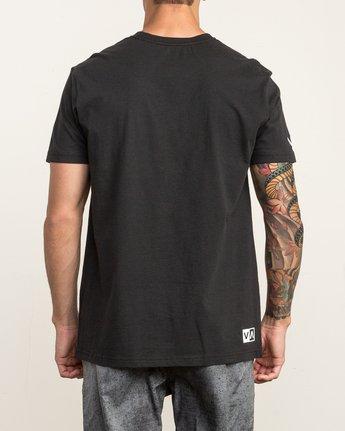 5 RVCA Vert T-Shirt Black V402SRRV RVCA