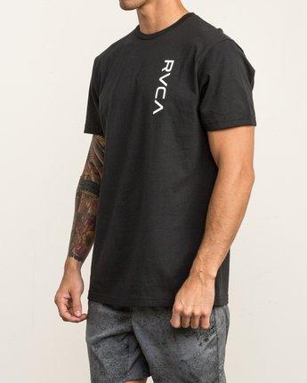 3 RVCA Vert T-Shirt Black V402SRRV RVCA
