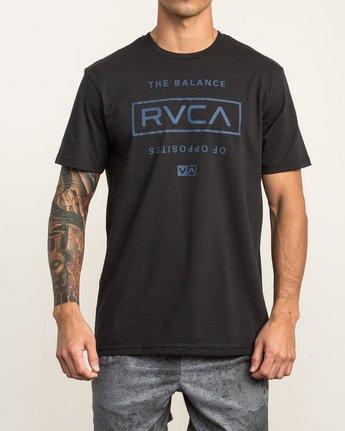 2 Stacked T-Shirt Black V402SRST RVCA
