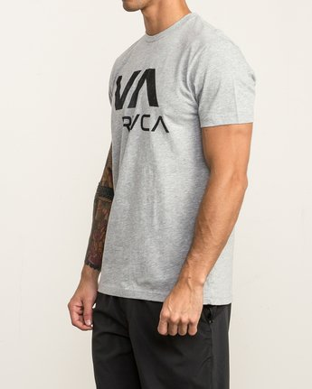 3 VA RVCA Sport T-Shirt Grey V402SRVA RVCA