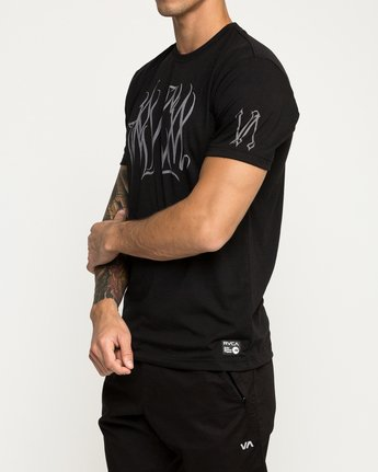 2 Big Defer Performance T-Shirt Black V404TRBI RVCA