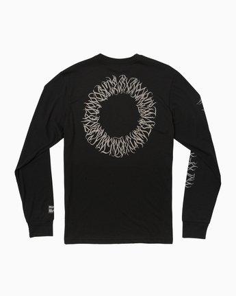 1 Defer Sphere Performance T-Shirt Black V453TRDE RVCA