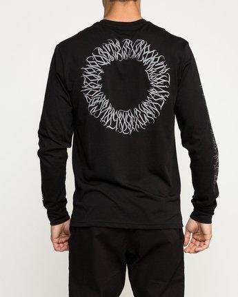 5 Defer Sphere Performance T-Shirt Black V453TRDE RVCA