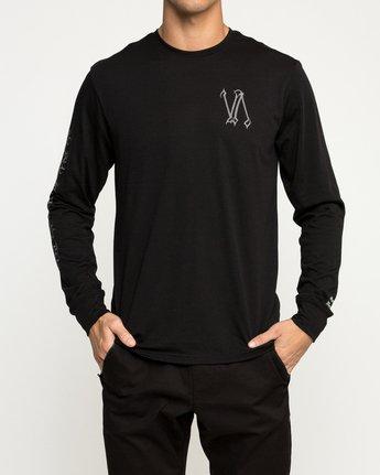 3 Defer Sphere Performance T-Shirt Black V453TRDE RVCA