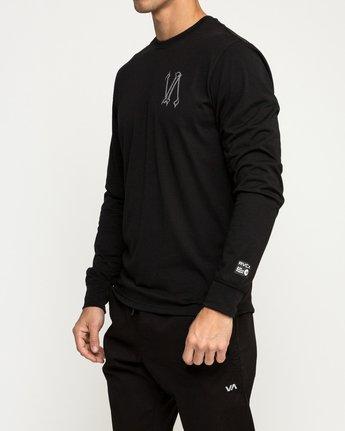 4 Defer Sphere Performance T-Shirt Black V453TRDE RVCA