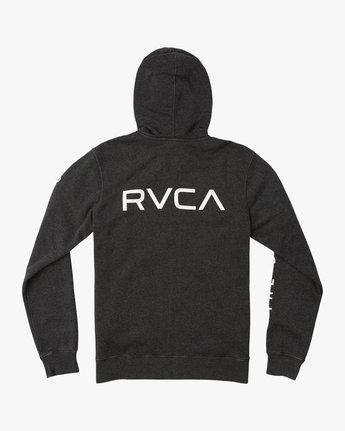 1 VA Guard Fleece Hoodie Black V605QRGH RVCA