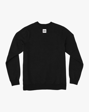 1 Reverted Crew Sweatshirt Black V622TRRR RVCA