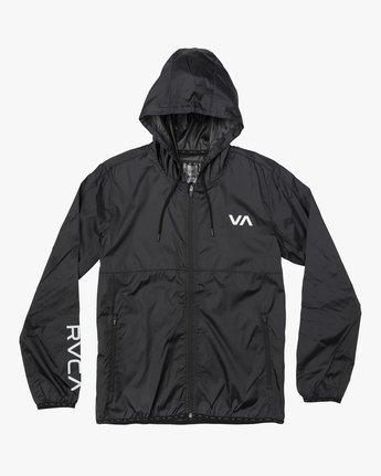 0 Hexstop IV Jacket Black V701TRHP RVCA