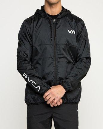 2 Hexstop IV Jacket Black V701TRHP RVCA