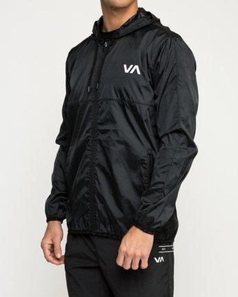 3 Hexstop IV Jacket Black V701TRHP RVCA