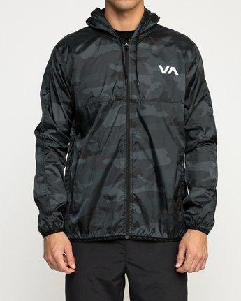 1 Hexstop IV Jacket Camo V701TRHP RVCA