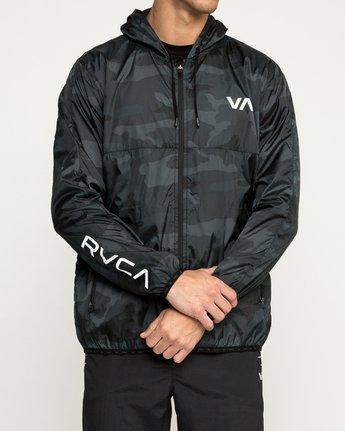 2 Hexstop IV Jacket Camo V701TRHP RVCA
