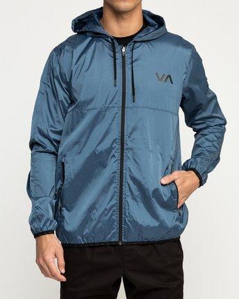 1 Hexstop IV Jacket Blue V701TRHP RVCA