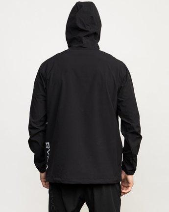 6 VA Anorak Jacket Black V702QRAN RVCA