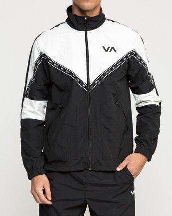 1 Control Track Jacket Black V703TRCO RVCA
