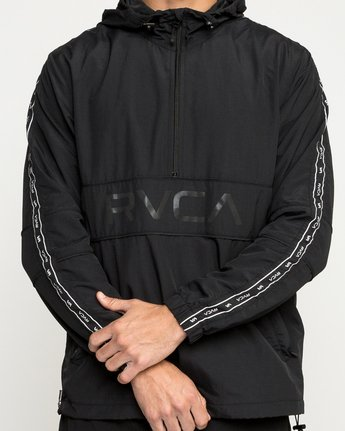 5 Adapter Anarok Jacket Black V704TRAA RVCA