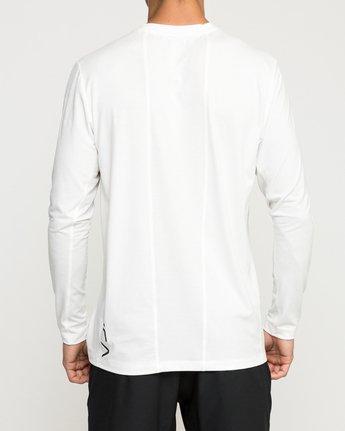 5 VA Vent Long Sleeve Top White V903QRVL RVCA