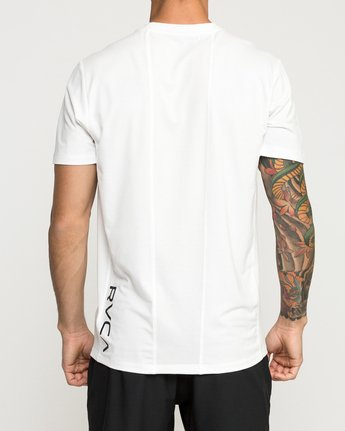 5 VA Vent Short Sleeve Top White V904QRVS RVCA
