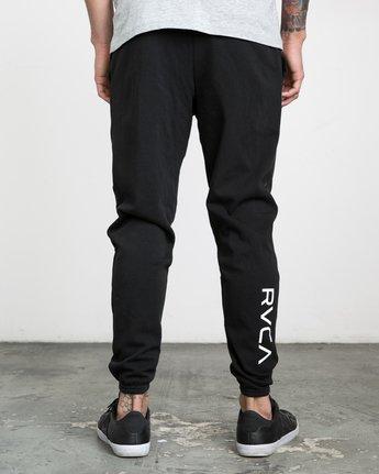3 The Swift Sweat Pant Black VJ301SWT RVCA
