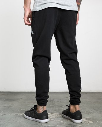 2 The Swift Sweat Pant Black VJ301SWT RVCA