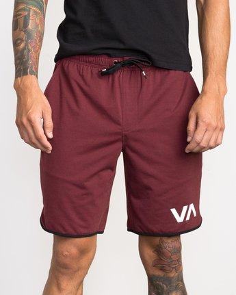 """6 VA Sport Short II 20"""" Short Brown VL201SPO RVCA"""