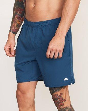 7 Yogger III Short Blue VL204YGR RVCA