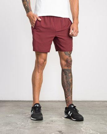 6 Yogger III Short Brown VL204YGR RVCA