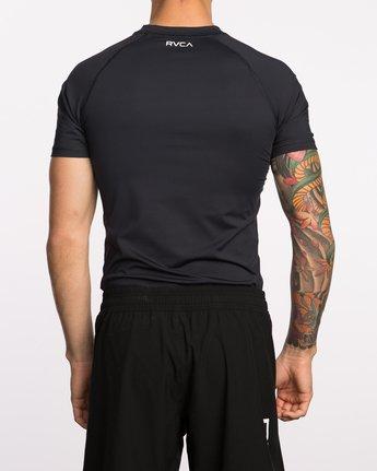 3 VA Sport Short Sleeve Compression Shirt Black VL903CPS RVCA