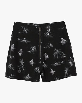 6 Lavish Printed Short Black W205PRLA RVCA