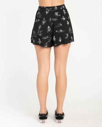 3 Lavish Printed Short Black W205PRLA RVCA